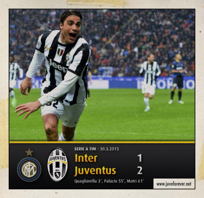 INTER - JUVENTUS 1 - 2